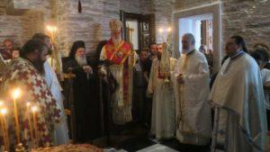 Στην Ι.Μ. Αγίας Μαρίνας στην Ανδρο ο Μητροπολίτης Δωρόθεος (ΦΩΤΟ)