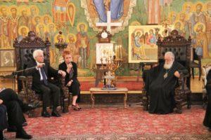 Τον Ιταλό Πρόεδρο δέχθηκε ο Πατριάρχης Γεωργίας Ηλίας (ΦΩΤΟ)