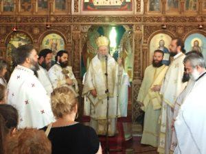 Εορτή του Προφήτη Ηλία στη Μητρόπολη Χαλκίδος (ΦΩΤΟ)