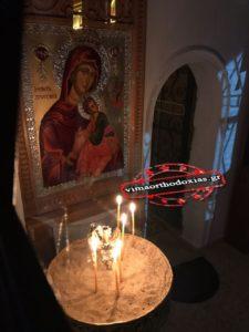 Αγρυπνία στην Μονή Αγίας Τριάδος Ακράτας για τη Σύναξη του Αρχαγγέλου Γαβριηλ