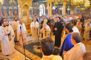 Ο Θεσσαλονίκης Ανθιμος στον Προφήτη Ηλία Πυλαίας (ΦΩΤΟ)