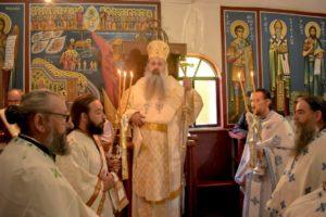 Εορτή της Αγίας Μαρίνας στη Μητρόπολη Σταγών και Μετεώρων (ΦΩΤΟ)