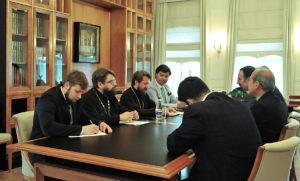 Συνάντηση του Βολοκολάμσκ Ιλαρίωνα με τον Πρέσβη του Ιράν στη Ρωσία (ΦΩΤΟ)