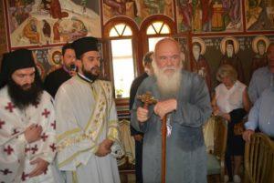 Ο Αρχιεπίσκοπος Ιερώνυμος τίμησε την Αγία Μαρίνα στο νησί Αμπελος (ΦΩΤΟ)