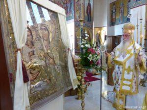 Ι.Μ. Καστορίας: Η Σύναξη της Παναγίας της Τριχερούσας (ΦΩΤΟ)
