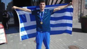 Συγχαρητήρια του Κορίνθου Διονυσίου στον παγκόσμιο πρωταθλητή Αντώνη Μέρλο