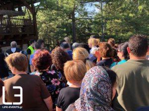 Σουρωτή: Κατά χιλιάδες συρρέουν οι πιστοί για να προσκυνήσουν τον  Αγιο Παϊσιο-Σημερινές εικόνες