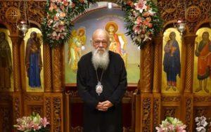 Στον Ι.Ν. Αγίας Παρασκευής στη Νέα Ιωνία ο Αρχιεπίσκοπος (ΦΩΤΟ)