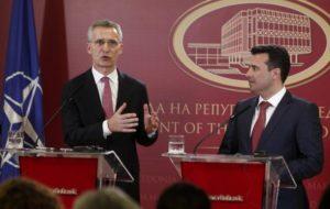 Γενικός Γραμματέας ΝΑΤΟ: Εάν δεν αλλάξει το όνομα η ΠΓΔΜ δε θα ενταχθεί στο ΝΑΤΟ