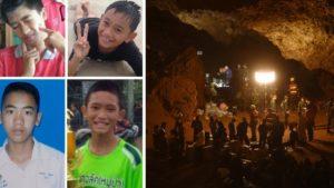 Ταϊλανδή: Αυτά είναι τα 4 παιδια που σώθηκαν από τη σπηλιά (ΦΩΤΟ)