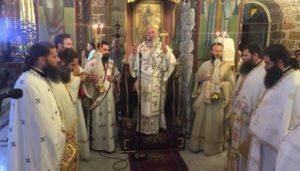 Προεόρτια Αγρυπνία για την εορτή στης Κοιμήσεως της Θεοτόκου στη Χαλκίδα