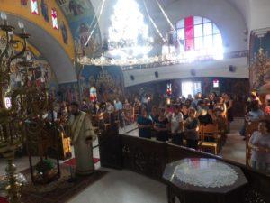 Ιερά Παράκληση από τον Μητροπολίτη Κορίνθου (ΦΩΤΟ)