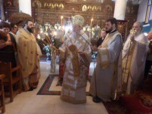 Η γιορτή της Παναγίας στη Μητρόπολη Κορίνθου (ΦΩΤΟ)