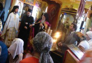 Πατριαρχική χοροστασία στο Ρωσικό Μετόχι στο Γαλατά