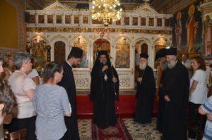Τελευταία Παράκληση στην Παναγία από τον Μεσσηνίας Χρυσόστομο στο Πεταλίδι (ΦΩΤΟ)