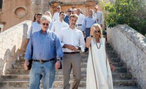 Στη Μονή Τζαγκαρόλων στα Χανιά γιόρτασε την Παναγιά ο Κυρ.Μητσοτάκης (ΒΙΝΤΕΟ & ΦΩΤΟ)