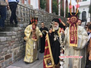 Η Κοίμηση της Θεοτόκου στην Ιερά Μονή Παναγίας Αρχαγγελιωτίσσης Ξάνθης (ΒΙΝΤΕΟ & ΦΩΤΟ)