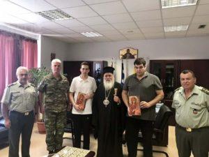 Συνάντηση του Νεαπόλεως Βαρνάβα με τους δύο Ελληνες στρατιωτικούς (ΦΩΤΟ)