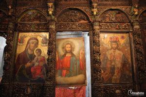 Ο Βυζαντινός Ναός της Παναγίας Αγιογαλούσαινας με το σπάνιο ξυλόγλυπτο τέμπλο (ΒΙΝΤΕΟ & ΦΩΤΟ)