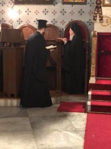 Ο Πατριάρχης στην Παναγία των Βλαχερνών για την Παράκληση (ΦΩΤΟ)