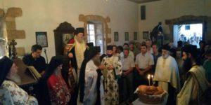 Η εορτή της Παναγίας στο Μετόχι της Μεγίστης Λαύρας στα Χανιά (ΦΩΤΟ)