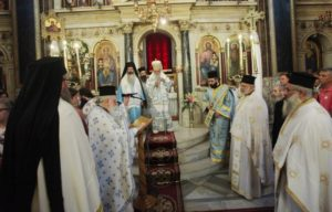 Στη Χρυσοσπηλαιώτισσα για την εορτή της Παναγίας ο Αρχιεπίσκοπος (ΦΩΤΟ)