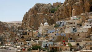 Ξανανοίγει η Ορθόδοξη ιστορική Μονή της Αγ. Θέκλας στη Maaloula (ΦΩΤΟ)