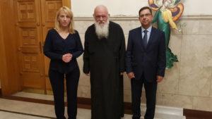 Εκκλησίας της Ελλάδος και Περιφέρειας Αττικής θα συνεργαστούν για τους πυροπαθείς