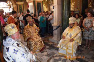 H εορτή Κοιμήσεως της Θεοτόκου στην ΜονήΒουλκάνου Μεσσηνίας (ΦΩΤΟ)