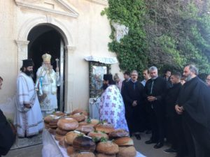 Με λαμπρότητα η πανήγυρη της Ιεράς Μονής Παναγίας Φανερωμένης Ιεράπετρας (ΦΩΤΟ)
