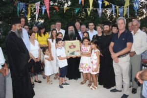 Ο Πατρών Χρυσόστομος στην ιστορική Ζουμπάτα Αχαΐας (ΦΩΤΟ)