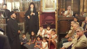 Ο Πατριάρχης στην Παναγία την Κουμαριώτισσα στο Νιχώρι για την τελευταία Παράκληση