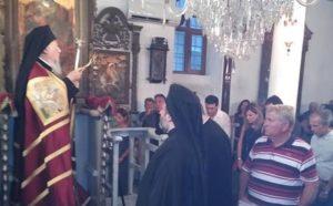 Η εορτή της Παναγίας στην Ιμβρο υπό του Οικουμενικού Πατριάρχη (ΒΙΝΤΕΟ & ΦΩΤΟ)