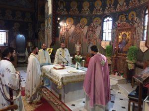 Η μνήμη του Αγίου Τιμοθέου Επισκόπου Ευρίπου στη Χαλκίδα (ΦΩΤΟ)