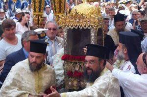 Κέρκυρα: Λαοθάλασσα σήμερα στη Λιτανεία του Αγίου Σπυρίδωνα (ΒΙΝΤΕΟ)