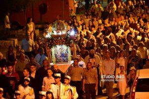 Η Κοίμηση της Θεοτόκου στο Αργολικό Ναυπλίου (ΒΙΝΤΕΟ & ΦΩΤΟ)
