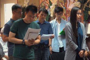 Φανερών σεαυτόν, τοις Μαθηταίς σου Σωτήρ…: Από τη μακρινή Σιγκαπούρη