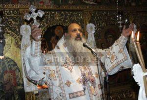 Ο Σταγών και Μετεώρων Θεόκλητος στο μοναστήρι του Βυτουμά για την εορτή της Παναγίας (ΦΩΤΟ)