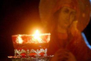 Προσευχή στην Παναγία Στην Αμόλυντη