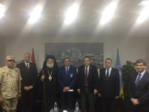 Με το νέο διοικητή Αλεξάνδρειας συναντήθηκε ο Πατριάρχης Θεόδωρος (ΦΩΤΟ)
