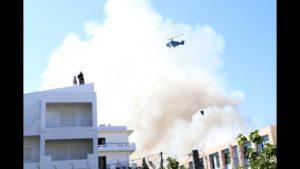 Πανεπιστήμιο Κρήτης: Βίντεο από drone-εικόνες καταστροφής