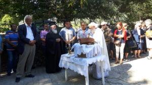 Λαμπρή Εορτή της Αγίας Θέκλης στον ομώνυμο Ιερό Βυζαντινό Ναό (ΦΩΤΟ)