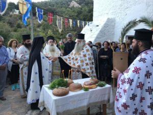 Η πανήγυρη του Ιερού Ναού Αγίου Ευσταθίου στην Ιεράπετρα (ΦΩΤΟ)