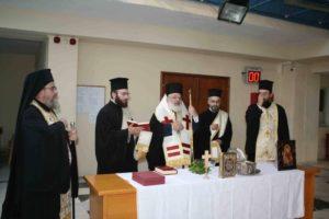 Αγιασμός στο Πρωτοδικείο Ορεστιάδας από τον Διδυμοτείχου Δαμασκηνό (ΦΩΤΟ)