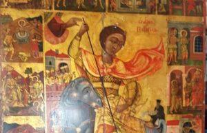 Στην Κύπρο επέστρεψε η Εικόνα του Αγίου Γεωργίου Καραβά (ΒΙΝΤΕΟ)