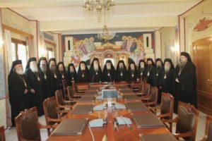 Ιερά Σύνοδος: Η επιτροπή διαλόγου με την Πολιτεία και η στήριξη σε πληγείσες οικογένειες