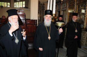 Πιθανή η κοινή παρουσία Οικ. Πατριάρχη και Πατριάρχη Σερβίας στη Θεσσαλονίκη