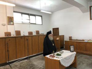 Αγιασμό στο Δικαστικό Μέγαρο Νάξου από τον Μητροπολίτη Καλλίνικο (ΦΩΤΟ)