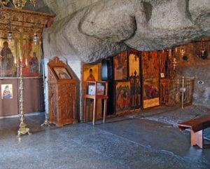 Το σπήλαιο της Αποκαλύψεως στην Πάτμο (ΦΩΤΟ)