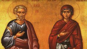 Αγιοι Ιωακείμ και Αννα – Γιορτή σήμερα 9 Σεπτεμβρίου – Ποιοι γιορτάζουν
